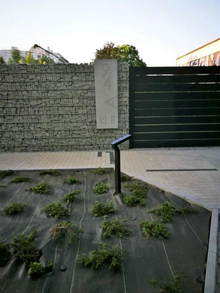 ALUgate ogrodzenie aluminiowe AG150 5-2