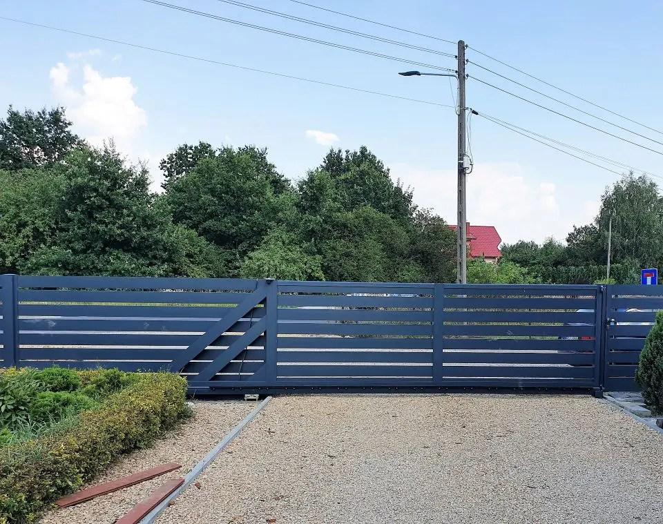 ALUgate ogrodzenie aluminiowe AG150 6-2