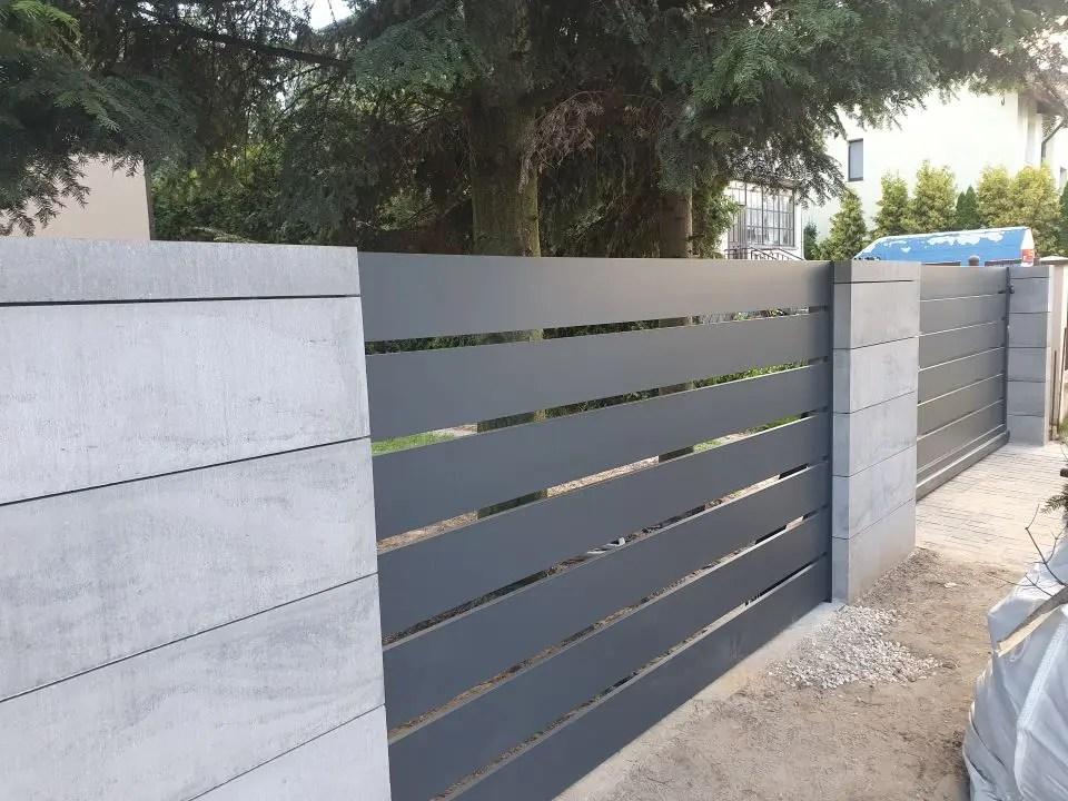 ALUgate ogrodzenie aluminiowe AG200 2