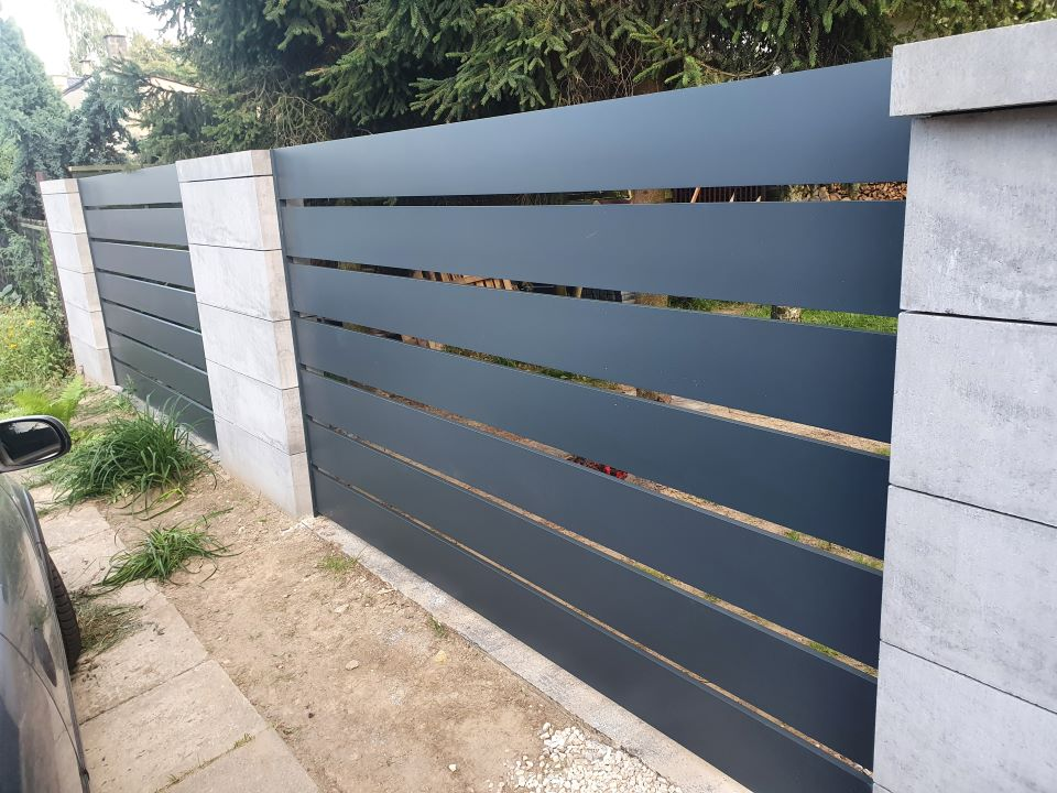 ALUgate ogrodzenie aluminiowe AG200 4