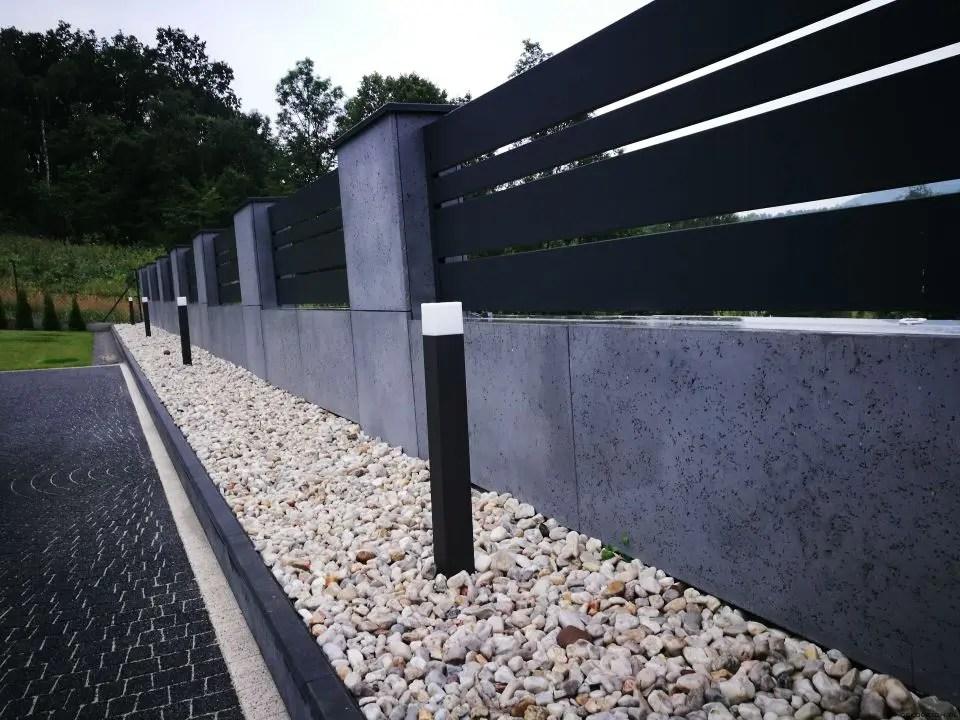 ALUgate ogrodzenie aluminiowe CONFIGURE 2