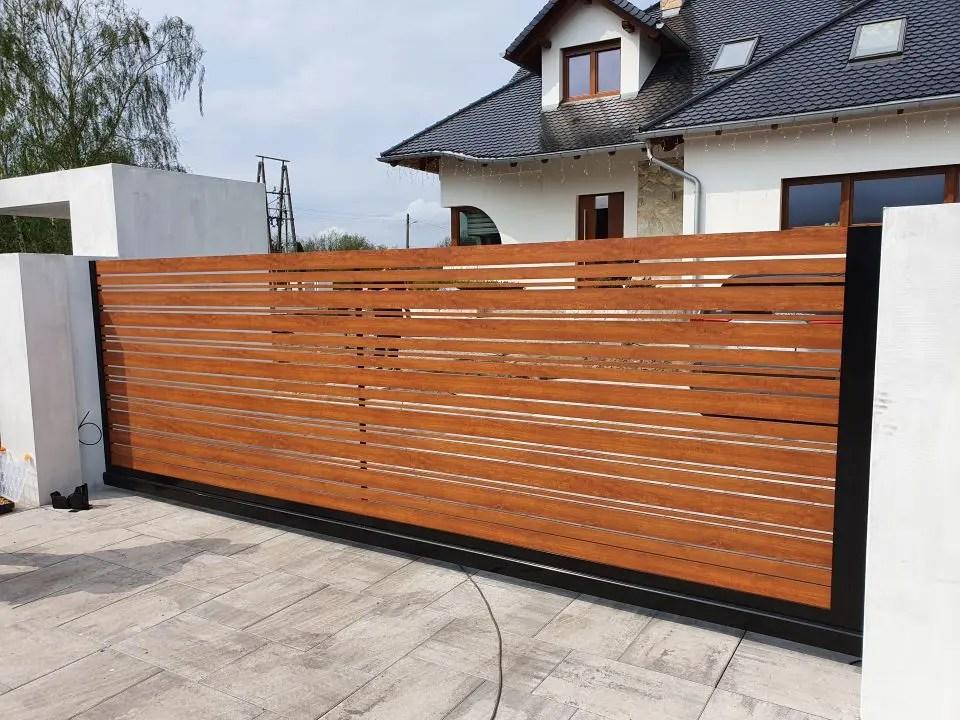 ALUgate ogrodzenie aluminiowe CONFIGURE 4