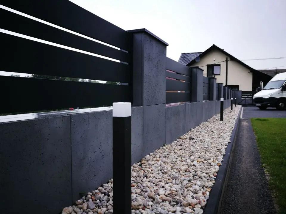 ALUgate ogrodzenie aluminiowe CONFIGURE 6