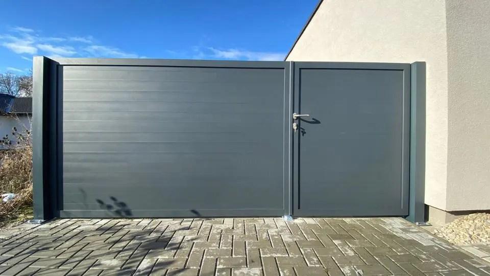 ALUgate ogrodzenie aluminiowe FULL 1