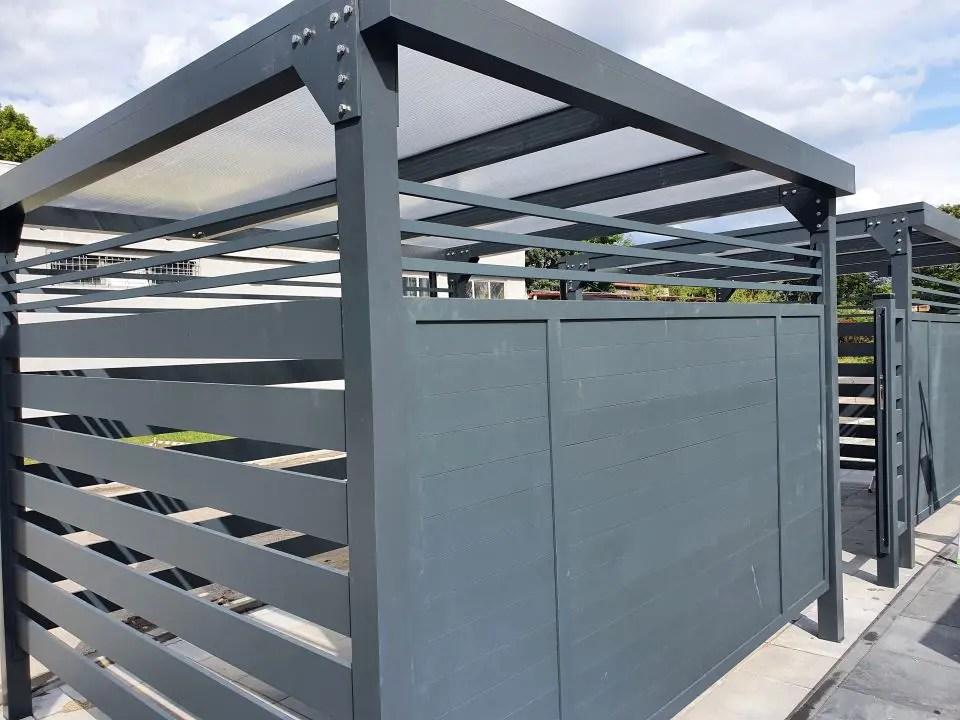 ALUgate ogrodzenie aluminiowe FULL 2