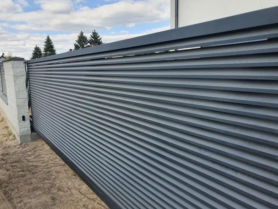 Ogrodzenie aluminiowe ALUgate SCHUTTER 2
