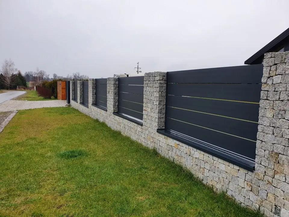 ALUgate ogrodzenie aluminiowe AG250 i CONFIGURE 5