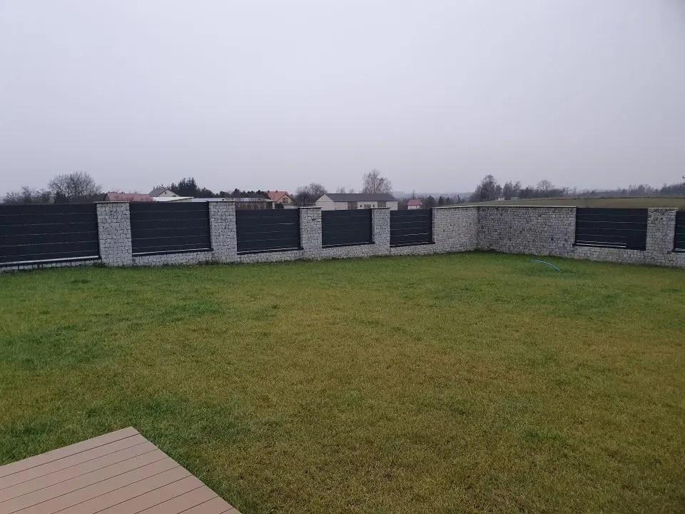 ALUgate ogrodzenie aluminiowe AG250 i CONFIGURE 7