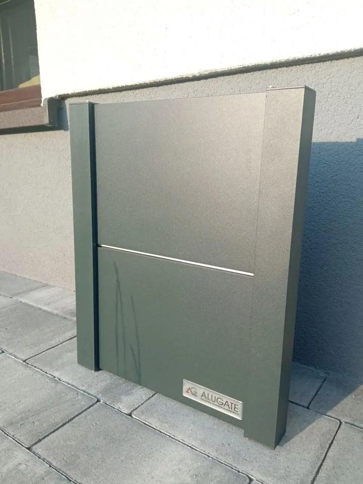 ALUgate ogrodzenie aluminiowe FULL 5