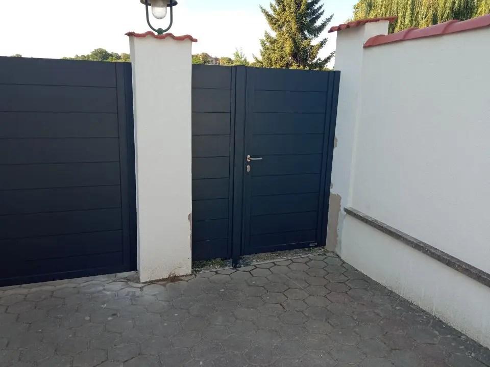ALUgate ogrodzenie aluminiowe FULL 7