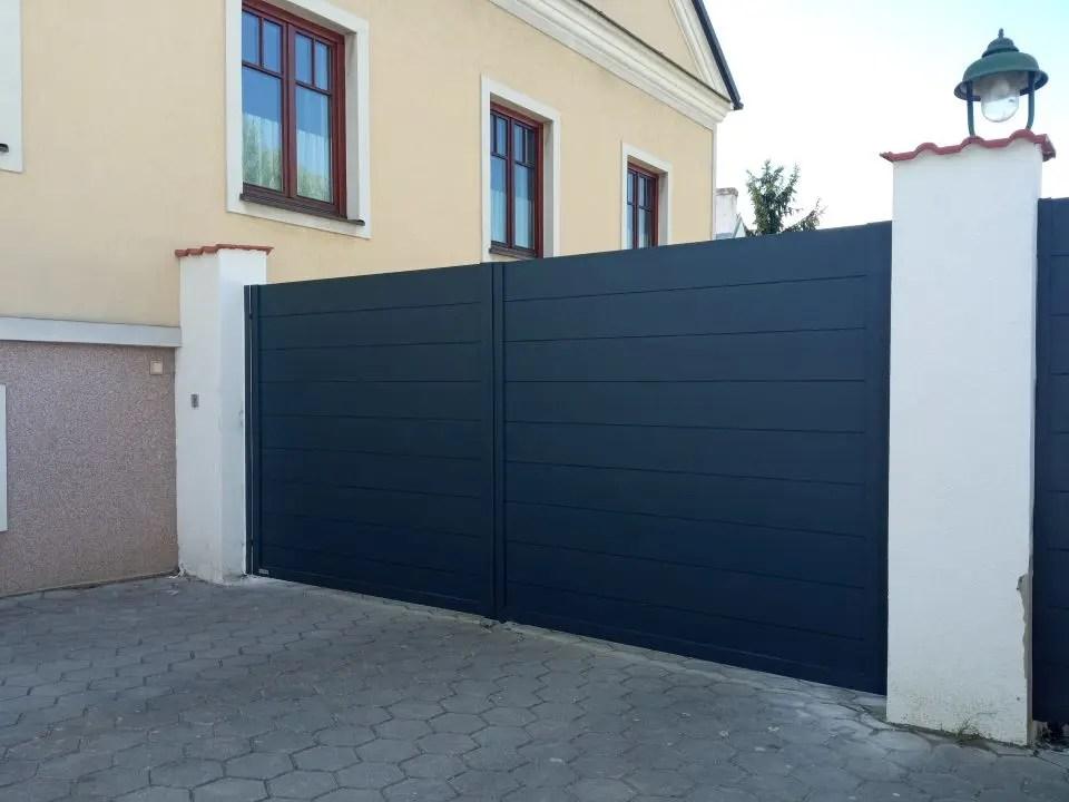 ALUgate ogrodzenie aluminiowe FULL 8