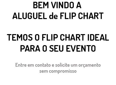 Aluguel de Flip Chart