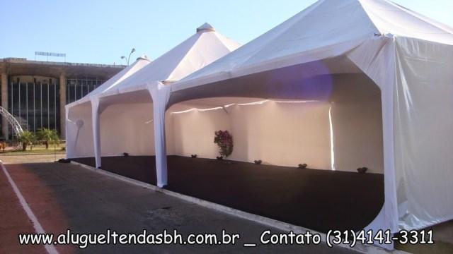 aluguel de tendas com fechamento em lycra