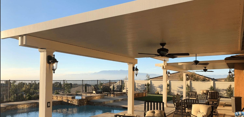 aluminum patio covers eastvale alumawood