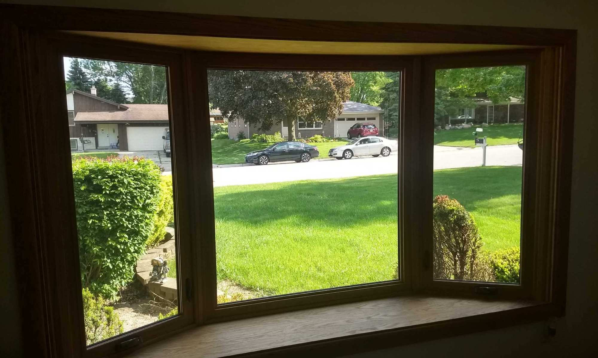 Picture Window Installation