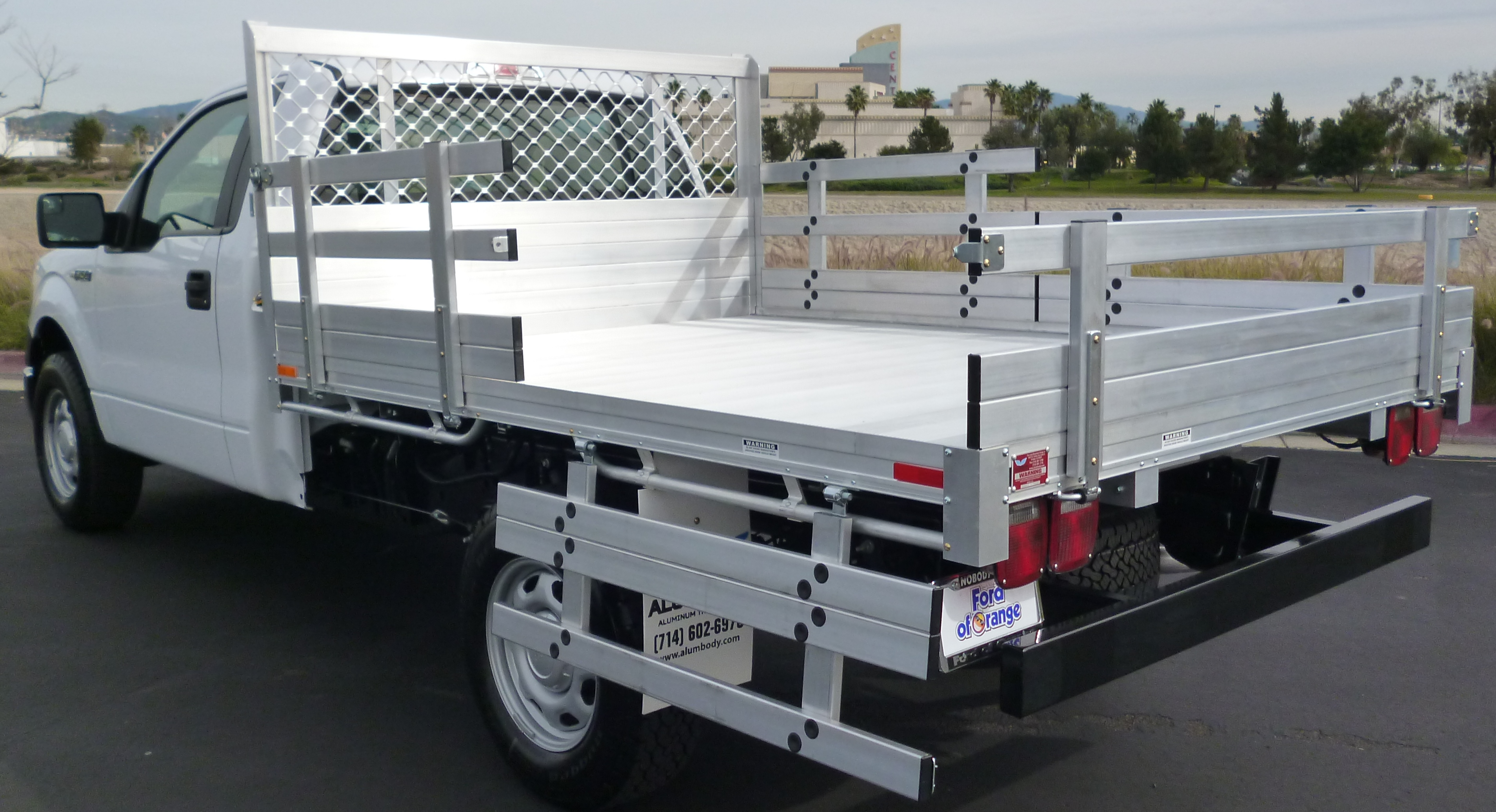 service bed htm flatbed new and sales mr beds trailer fabrication aluminum custom truck