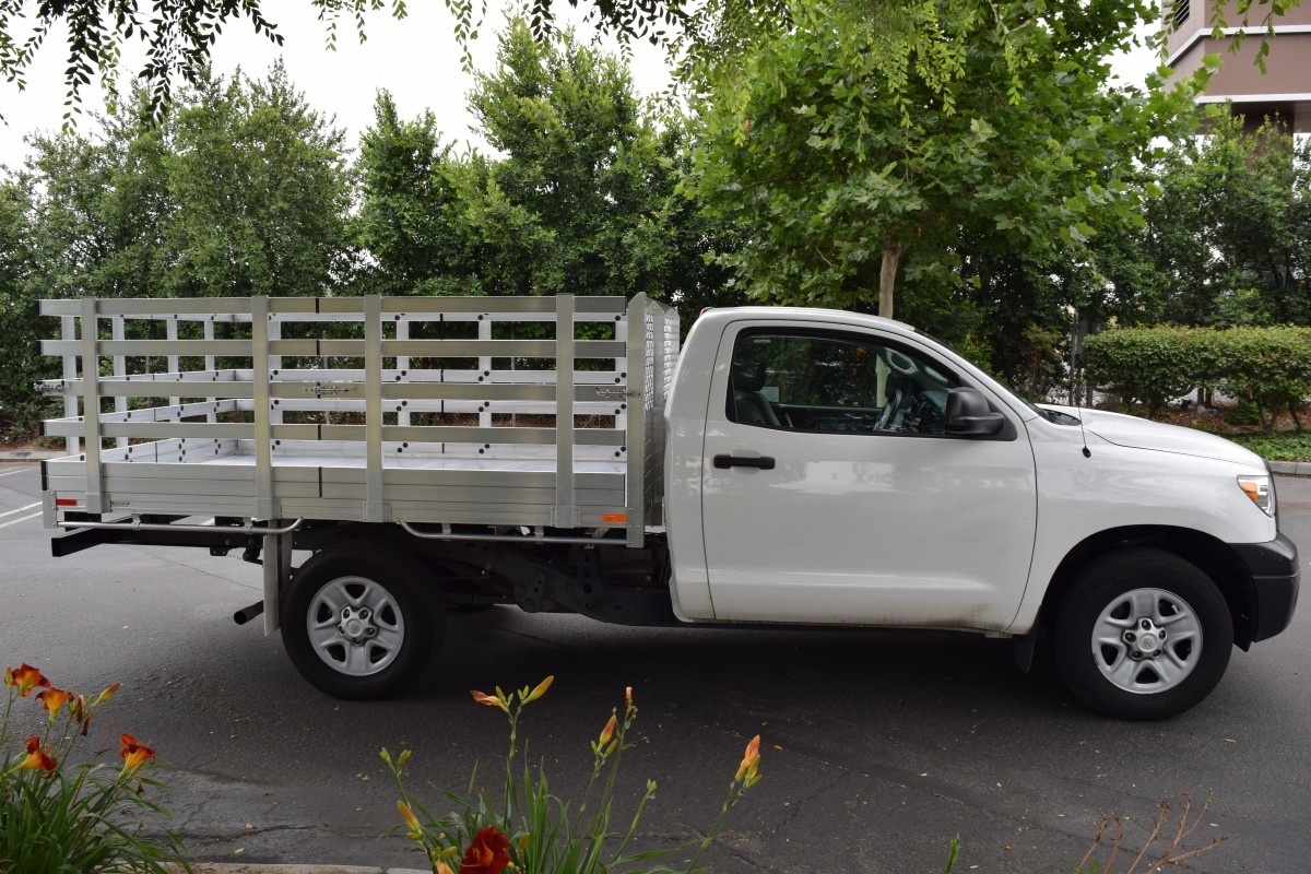 Toyota Aluminum Truck Beds Alumbody 2004 Tundra Double Cab Lifted Standard With 10 Bed Six 38 Side And Rear Lift Out Gates A Dock Bumper