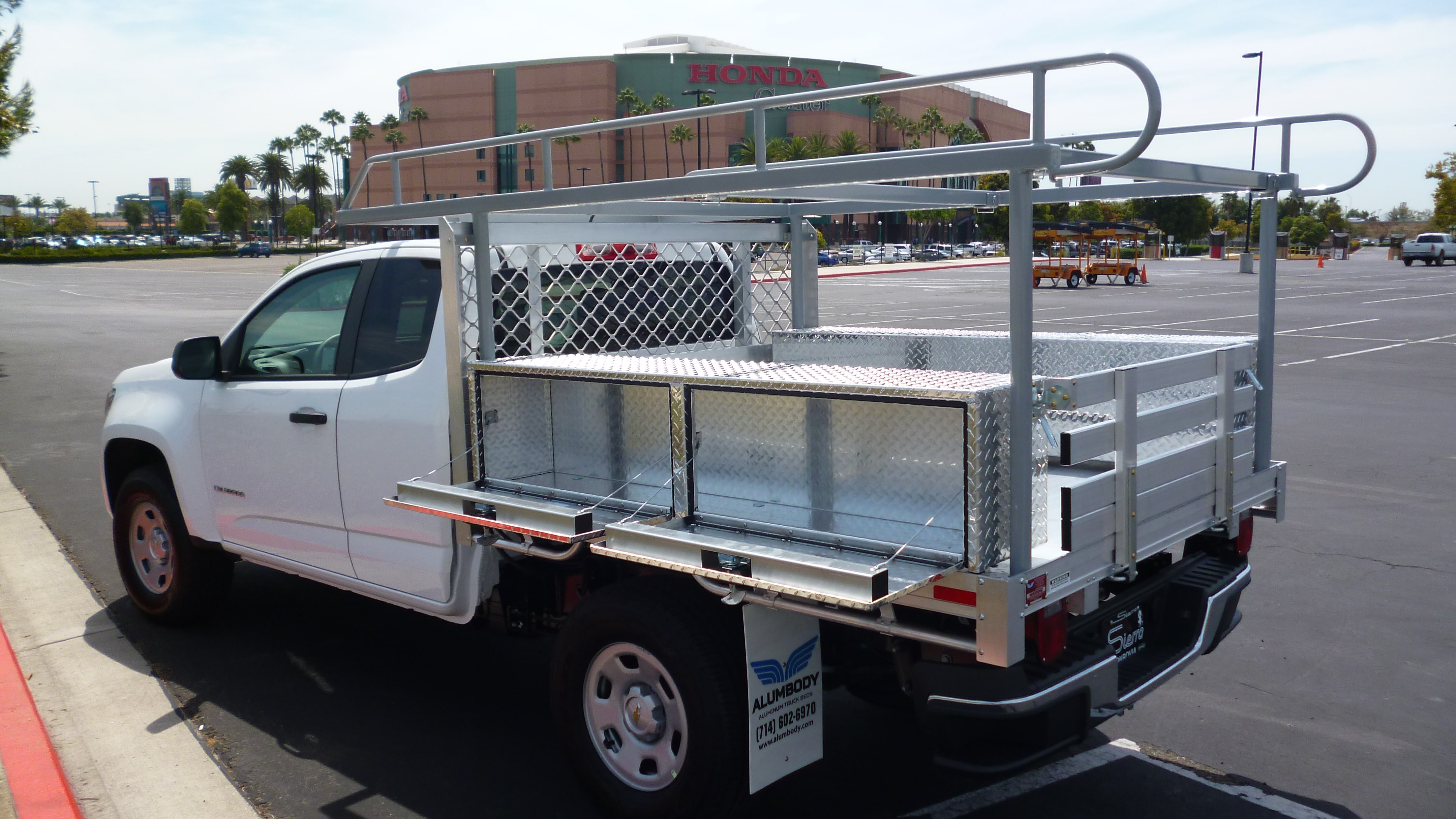 full rack free truck utility ladder ultra tools size tow shop shipping lb product