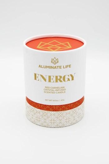 Aluminate Life Energy Candle
