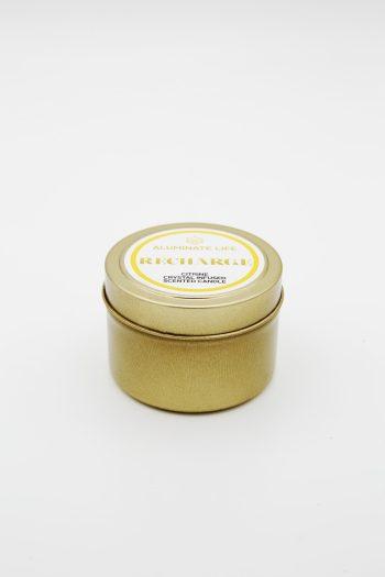 Aluminate Life Recharge Candle Tin