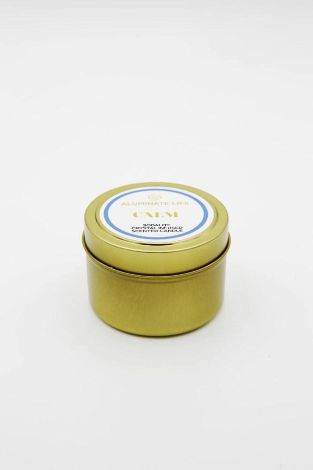 Calm Candle Tin 2- Aluminate Life