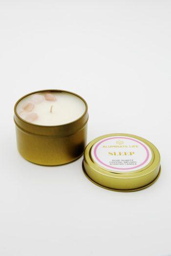 Aluminate Life Sleep Candle Tin 2