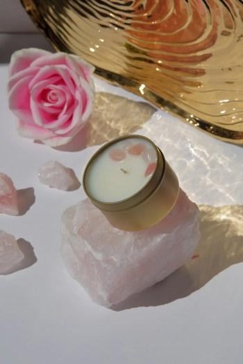 Aluminate Life Sleep Candle Tin