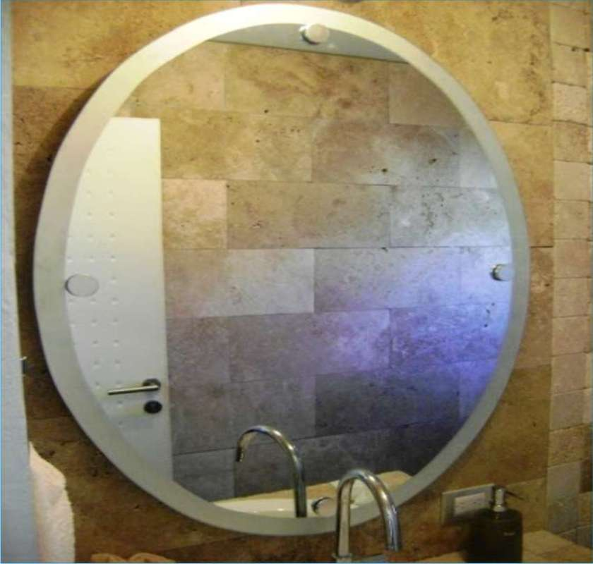 Puertas para ba o soluciones para la nueva arquitectura - Espejos biselados para banos ...