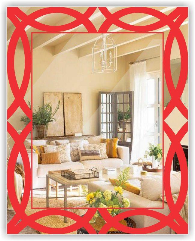 Refleja tu buena sonrisa con nuestros espejos decorativos