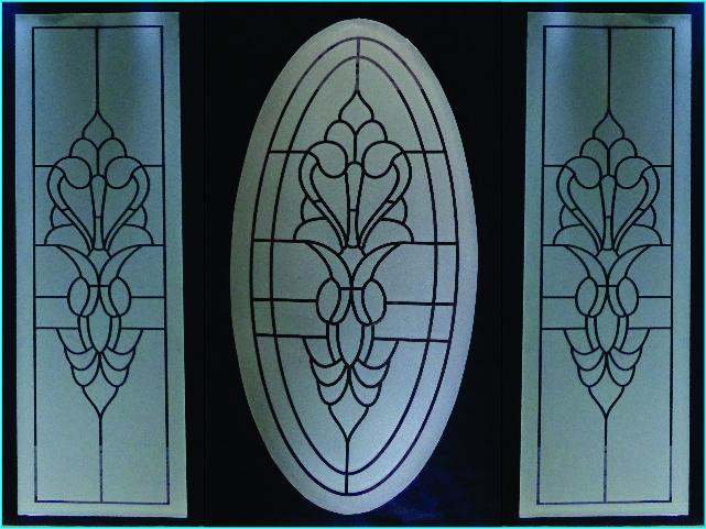 Puertas para ba o soluciones para la nueva arquitectura for Vidrios decorados para puertas interiores