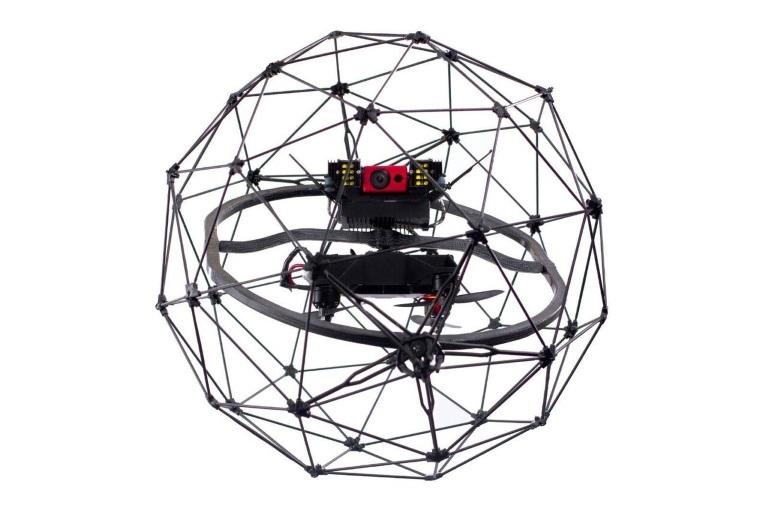 Elios – krocktolerant flygande robot för brandövervakning
