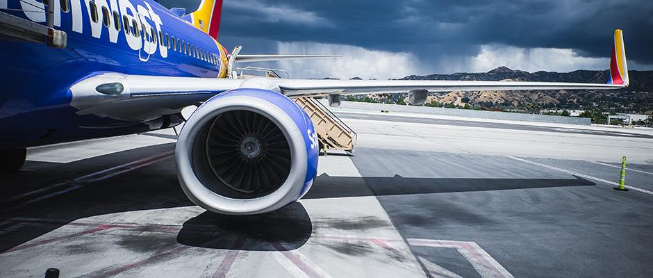Första fläktbladet av aluminium någonsin i jetmotorer