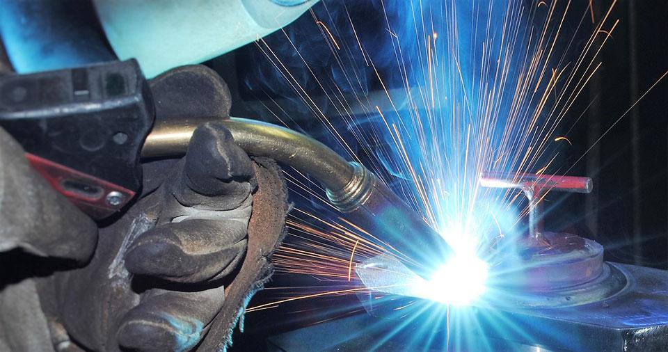 Högkvalitativ aluminiumsvetsning  för skeppsbyggare