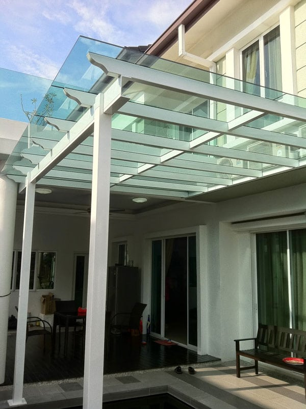 Insulated Polycarbonate Colorbound Patio Outdoor Cover
