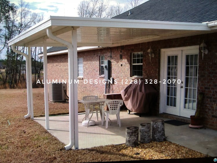 aluminum non-insulated patio cover
