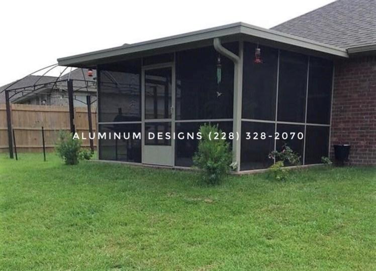 Aluminum Patio contractor Aluminum Designs 228-328-2070