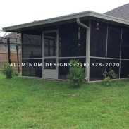 Aluminum Patio contractor Aluminum Designs 228-328-2070