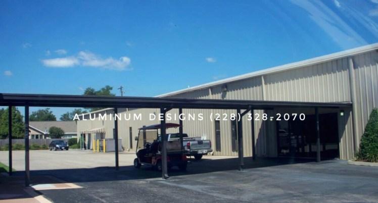 aluminum bronze walkway cover pan roof system