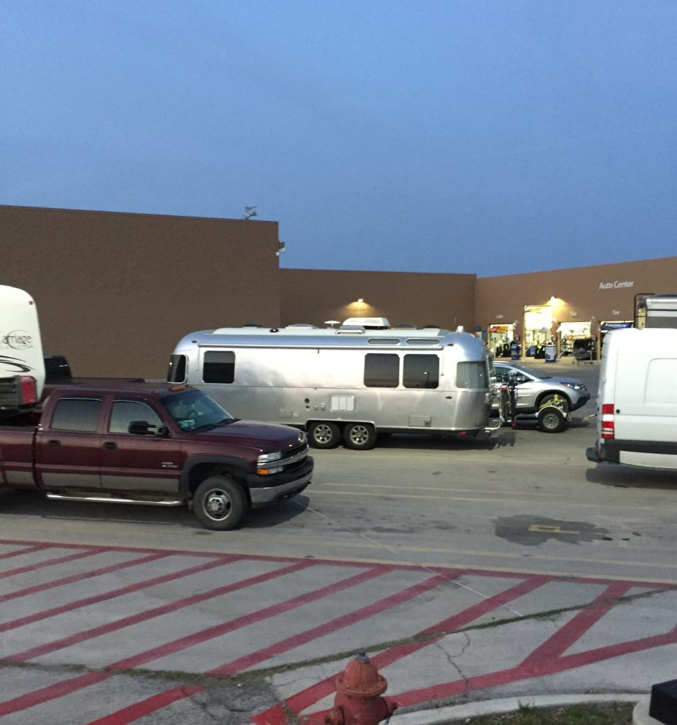 Walmart Boondocking