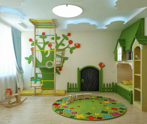 جبسون بورد لسقف غرف الاطفال