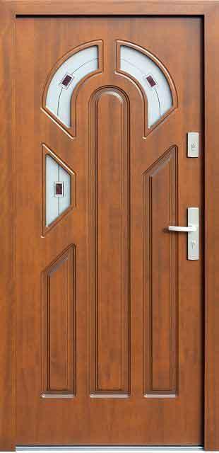 أبواب خشبية مودرن