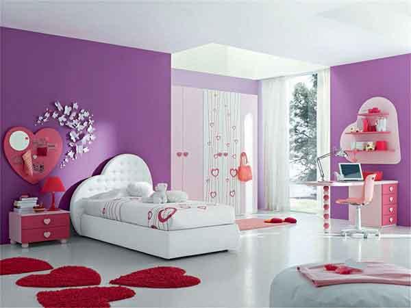 اجمل الالوان لغرف نوم الاطفال والديكورات الحديثة