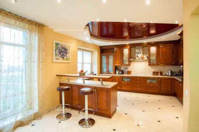 ديكورات جبسون بورد لسقف المطبخ 29