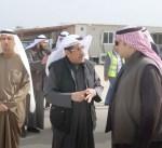 وزير الاسكان يتفقد مشروعي ابو حليفة وتوسعة الوفرة