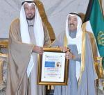 سمو الأمير يستقبل الدكتور عبدالله المعتوق