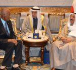 سمو أمير البلاد يستقبل سفير جمهورية اثيوبيا