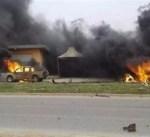 قتيلان في انفجار سيارة استهدفت نقطة تفتيش في بنغازي