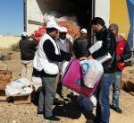 """""""الهلال الأحمر"""" 4000 أسرة سورية استفادت من حملتنا الإغاثية في الأردن"""