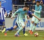 برشلونة يمطر شباك ألافيس بسداسية في الجولة الثانية والعشرين من الدوري الإسباني