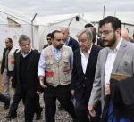 أمين الأمم المتحدة يدعو إلى تضامن المجتمع الدولي لمساعدة النازحين العراقيين
